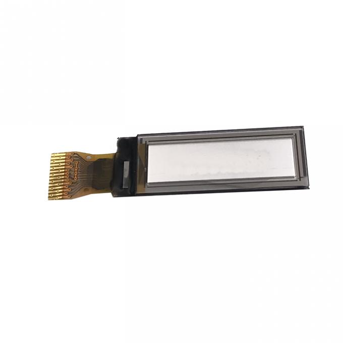 High Contrast Sunlight Visible Wearable LCD Display 0.91 Inch Durable