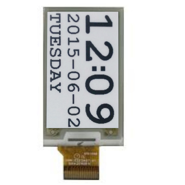 Supermarket Electronic E Ink Price Tag Screen 2.1 Inch Wireless