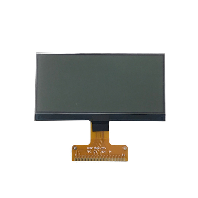COG Type Graphic Lcd Display Module 128X64 Mono Lcd Module For Tablet