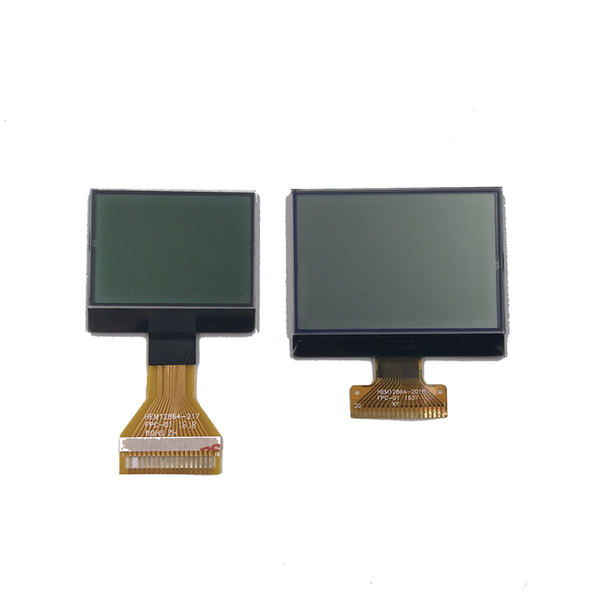 12832 Dot Matrix Custom LCD Display COG LCM , String And Optional