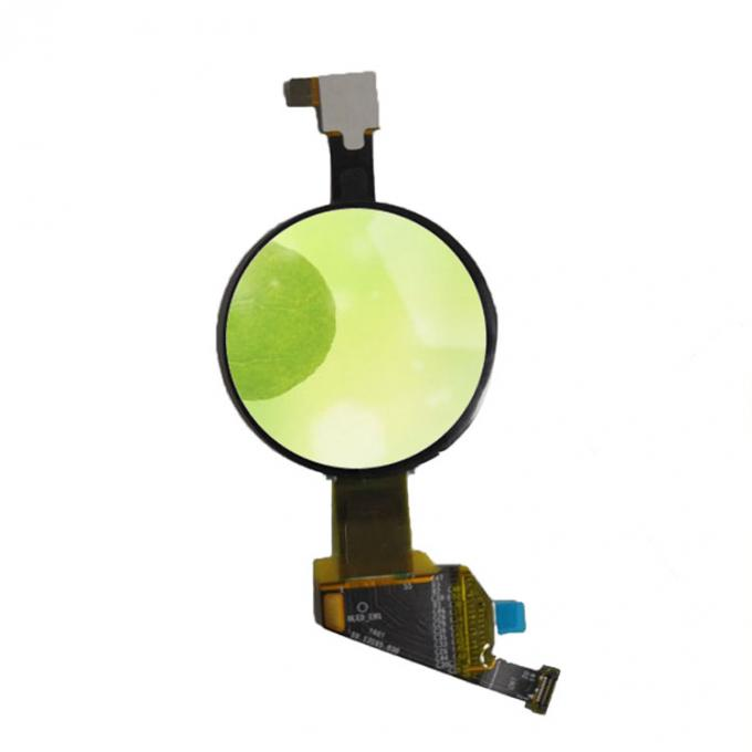 High-level round oled display module with touch 1.19 inch for the Business watch