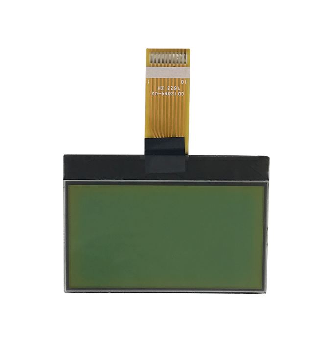 Yellow green color lcd module with yellow leds with fast delivery