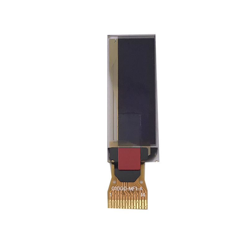 Thin 0   91 Inch PMOLED Monochrome Oled Display SSD1306 Driver IC
