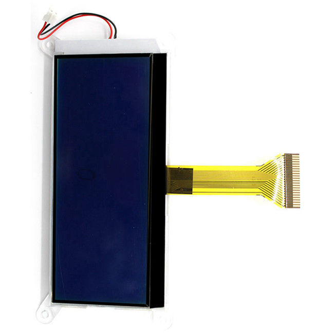 STN Type 192x64 resolution lcd display yellow+green color graphic 19264 dots LCD module