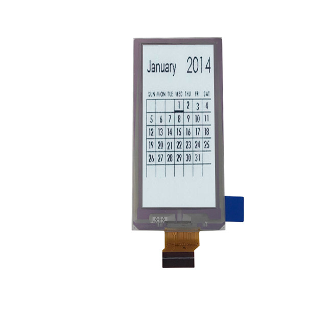 36.7 X 79.0 × 1.25 Mm LCD Display Module For Supermarket Shelf Price Labels