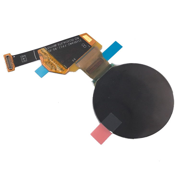 390 X 390 Resolution Round OLED Display , High Contrast Micro OLED Display