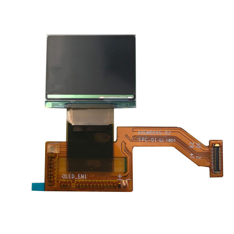 Resolution 180 x 120 dots 0.95 inch ultra thin pmoled dsiplay screen with mipi interface