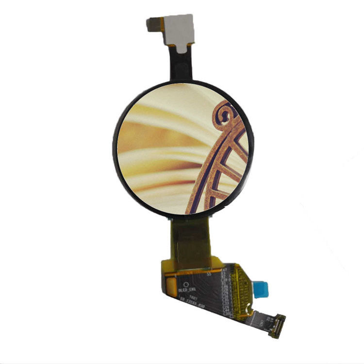 round oled display module 1 . 19 inch with capacitive touch panel 390*390 dots