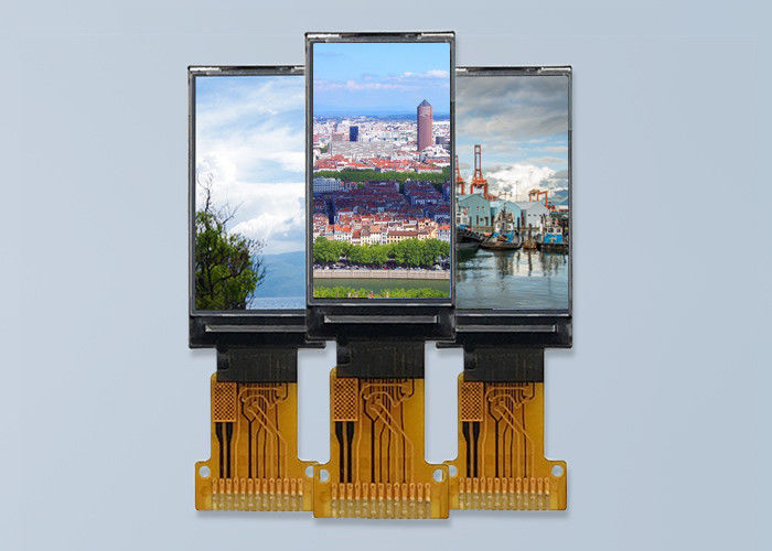 "Small TFT LCD Display Module White Color for Smart Watch 0.96 "" 80 * 160"