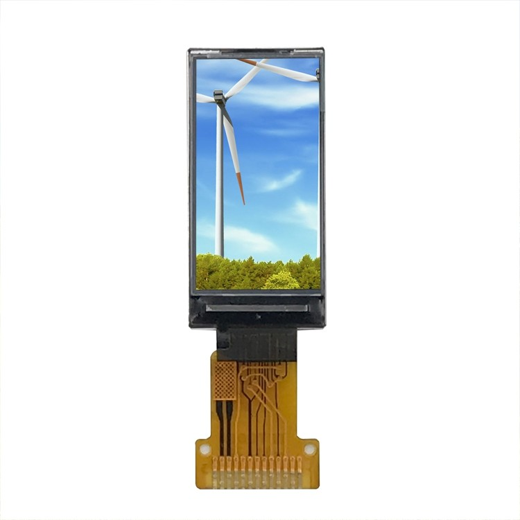 Small TFT LCD Display Module White Color for Smart Watch 0 96