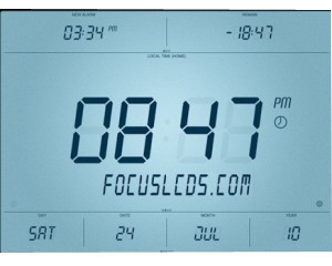 Custom 12 O'Clock LCD Display VA LCD made by Shenzhen Factory Custom Made Display